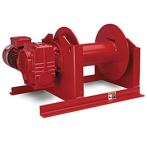 HWF Series power Winches