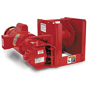 WS Series power Winches/for under 6 tons