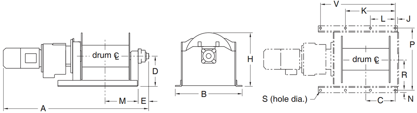 Dimensions for 4HPF